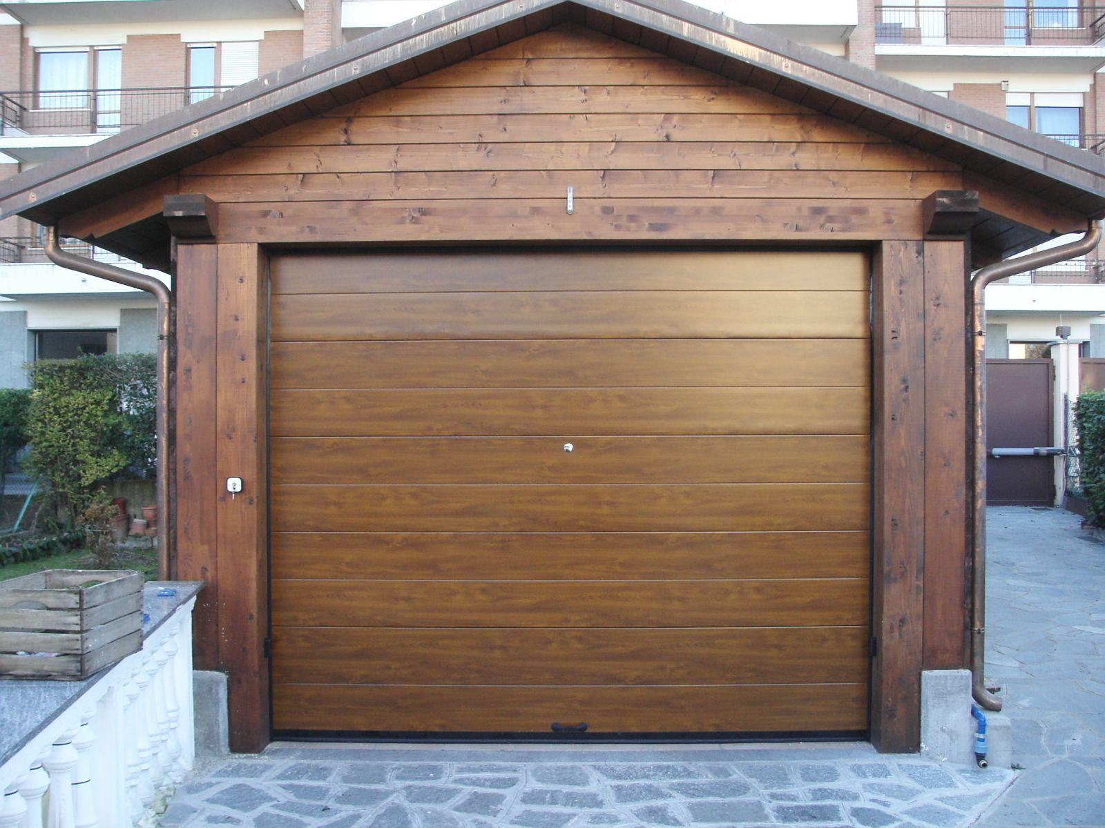 Ворота в гараж секционные